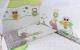 Комплект постельный в кроватку Баю-Бай Раздолье / К50-Р3 (зеленый) -