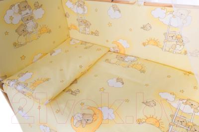 Комплект в кроватку Баю-Бай Нежность К60-Н2 (бежевый)