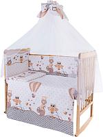 Комплект в кроватку Баю-Бай Раздолье К70-Р2 (бежевый) -