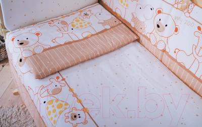 Комплект в кроватку Баю-Бай Дружба К80-Д2 (бежевый)
