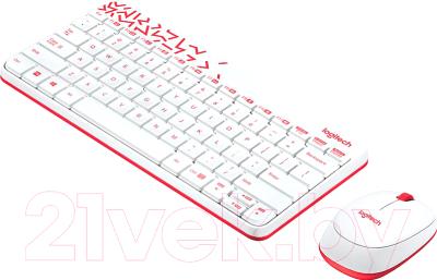 Клавиатура+мышь Logitech MK240 / 920-008212