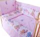 Комплект постельный в кроватку Баю-Бай Забава К31-З1 (розовый) -