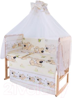 Комплект в кроватку Баю-Бай Верность К90-В2 (бежевый)