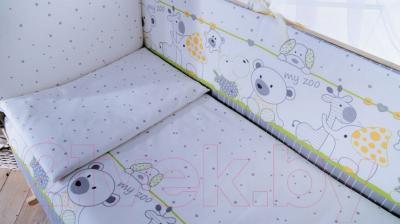 Комплект в кроватку Баю-Бай Дружба К120-Д3 (зеленый)