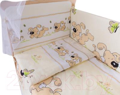 Комплект в кроватку Баю-Бай Верность К120-В2 (бежевый)