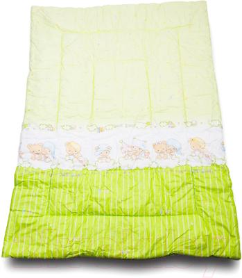 Одеяло детское Баю-Бай Мечта / ОД01-М3 (зеленый)