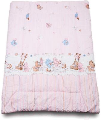 Одеяло детское Баю-Бай Забава ОД01-З1 (розовый)