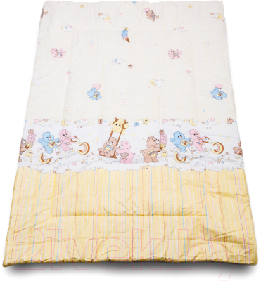 Одеяло детское Баю-Бай Забава ОД01-З2 (бежевый)