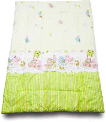 Одеяло детское Баю-Бай Забава ОД01-З3 (зеленый)