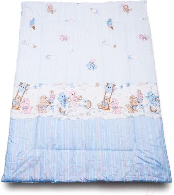 Одеяло детское Баю-Бай Забава ОД01-З4 (голубой)