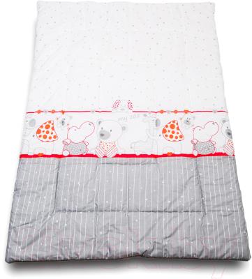 Одеяло детское Баю-Бай Дружба ОД01-Д1 (красный)