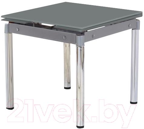 Купить Обеденный стол Halmar, Kent (серый/хром), Китай