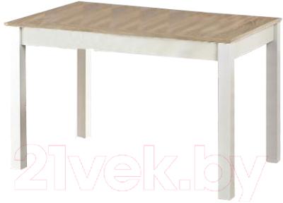 Обеденный стол Halmar Ksawery (дуб сонома/белый)