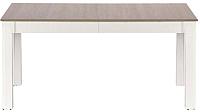 Обеденный стол Halmar Seweryn (дуб сонома/белый) -