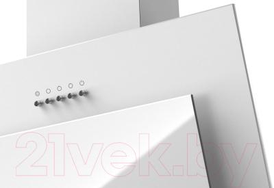 Вытяжка декоративная Krona Elma 600 PB / 00020981 (белый)