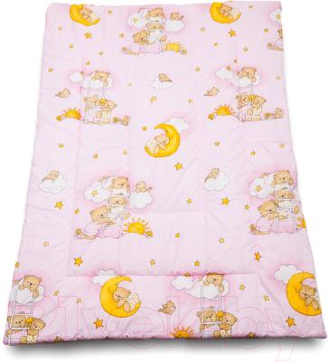 Одеяло детское Баю-Бай Нежность / ОД01-Н1 (розовый)