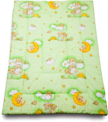 Одеяло детское Баю-Бай Нежность ОД01-Н3 (зеленый)
