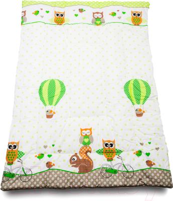 Одеяло детское Баю-Бай Раздолье ОД01-Р3 (зеленый)