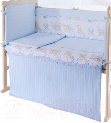 Пододеяльник детский Баю-Бай Мечта ПД10-М4 (голубой)