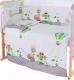 Пододеяльник детский Баю-Бай Раздолье ПД10-Р3 (зеленый) -