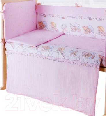 Пододеяльник детский Баю-Бай Мечта ПД11-М1 (розовый)