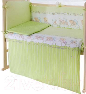 Пододеяльник детский Баю-Бай Мечта ПД11-М3 (зеленый)