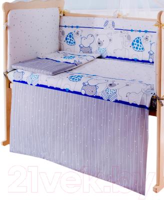 Пододеяльник детский Баю-Бай Дружба ПД11-Д4 (синий)