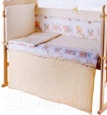 Простыня детская Баю-Бай Мечта ПР11-М2 (бежевый)