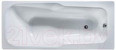 Ванна чугунная Универсал Эврика-У 170x75 (1 сорт, без ручек и ножек )
