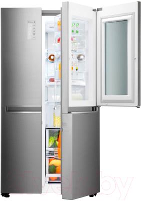 Холодильник с морозильником LG GC-Q247CABV