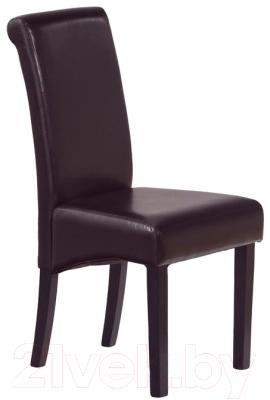 Стул Halmar Nero (венге/темно-коричневый)