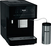Кофемашина Miele CM 6350 OBSW (черный обсидиан) -