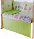 Простыня детская Баю-Бай Забава ПР12-З3 (зеленый) -