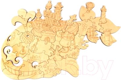 Пазл Woody Чудо-Юдо Рыба-Кит / 00556