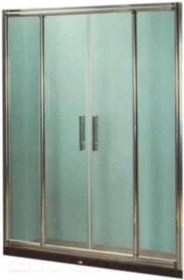 Душевое ограждение Coliseum DS 266-150/256 (прозрачное стекло)