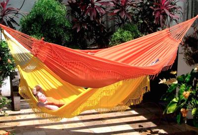 Гамак Tropical Forro (оранжевый)