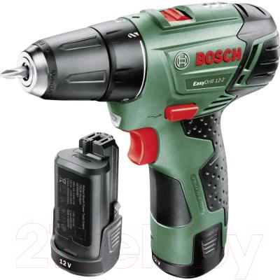 Аккумуляторная дрель-шуруповерт Bosch EasyDrill 12-2 (0.603.972.90X)