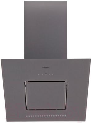 Вытяжка декоративная Pyramida HES 30 (C-600mm) Gray/AJ