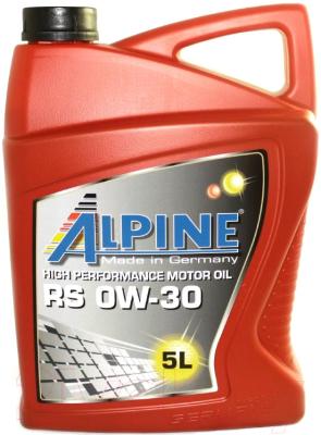 Моторное масло ALPINE RS 0W30 / 0100242 (5л)