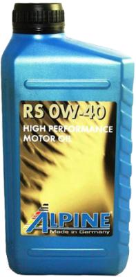 Моторное масло ALPINE RS 0W40 / 0100221 (1л)