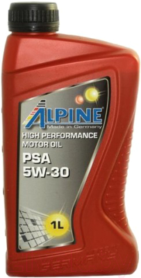 Моторное масло ALPINE PSA 5W30 / 0101381 (1л)