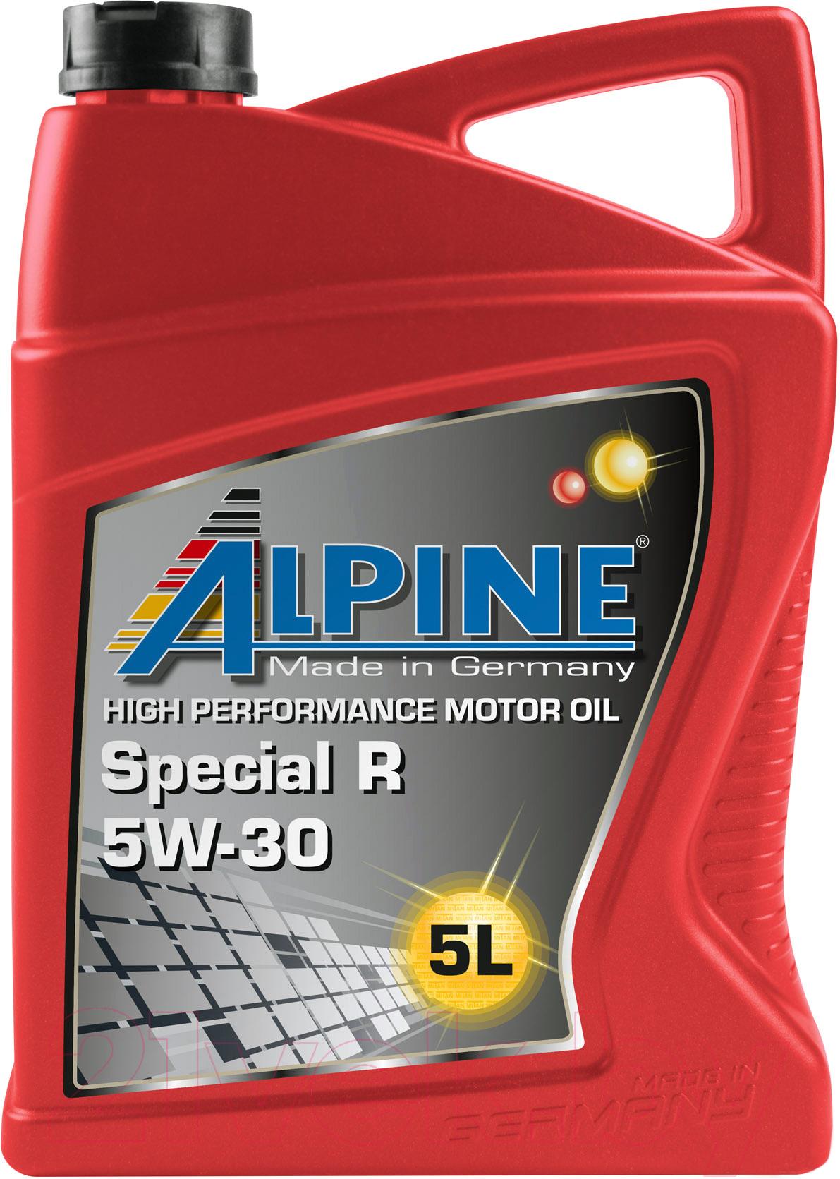 Купить Моторное масло ALPINE, Special R 5W30 / 0101402 (5л), Германия