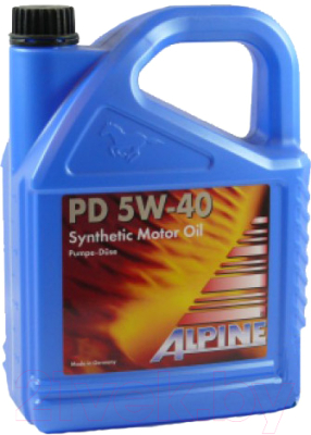 Моторное масло ALPINE PD Pumpe-Duse 5W40 / 0100169 (4л)