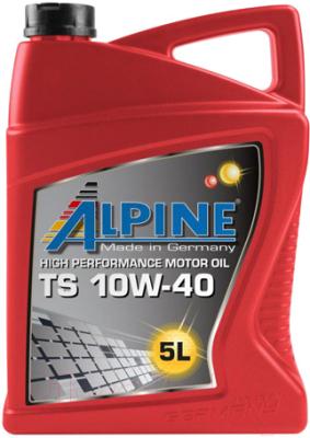 Моторное масло ALPINE TS 10W40 / 0100082 (5л)
