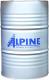 Моторное масло ALPINE Turbo Plus 10W40 LA / 0100385 (208л) -