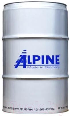 Моторное масло ALPINE Turbo Plus 10W40 / 0100365 (208л)