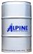Моторное масло ALPINE Turbo Super 10W40 / 0100345 (208л) -