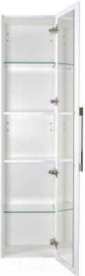 Шкаф-пенал для ванной Аква Родос Паола / АР0001349 (подвесная)