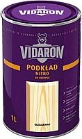 Грунтовка Vidaron Нитро для древесины (1л,\ бесцветная) -