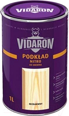 Грунтовка Vidaron Нитро для древесины (1л,\ бесцветная)